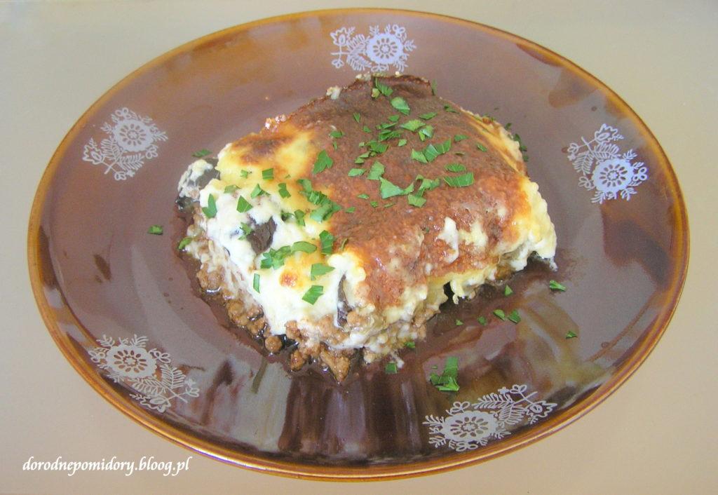 Musaka Kuchnia Grecka Dorodne Pomidory